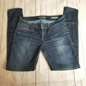 Guess Mid Rise Power Ultra Skinny Jean Size 28